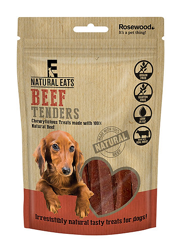 Rosewood Natural Eats Beef Tender Strips 80g