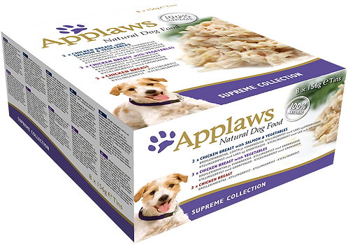 Applaws Dog Supreme Selection Pack 8x156g