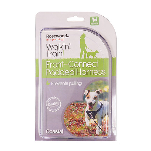 Coastal Pet Walk Right!® Front-Connect Padded Dog Harness Medium