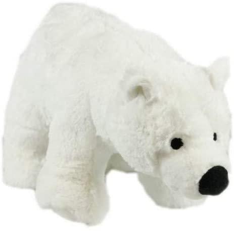 Animal Instincts Snow Mates Perdita Polar Bear Dog Toy -Small