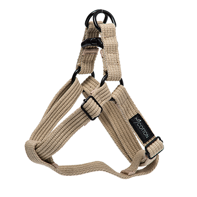 Gor Pets Cotton Harness Small Beige