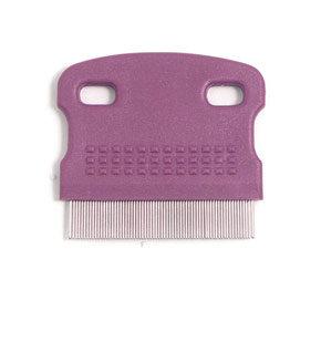 Rosewood Soft Protection Salon Grooming Flea Comb, Mini