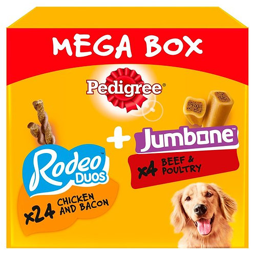 Pedigree Rodeo Duos & Jumbone Mega Box