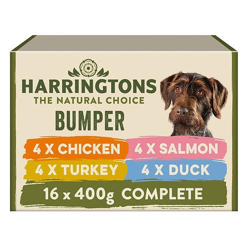 Harringtons Wet Dog Food Bumper Pack 16 x 400g