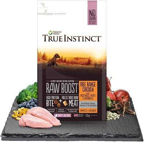 Natures Menu Puppy True Instinct Raw Boost Free Range Chicken 1.5kg