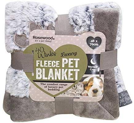 Rosewood Luxury Grey Blanket - Small