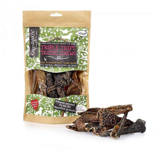 Green & Wilds Triple Tripe Tastic Chews 100g