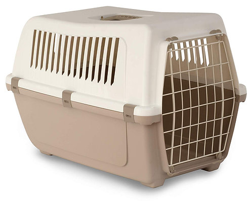 Rosewood Vision Classic Cat and Pet Carrier 60 cm, Large, Mocha