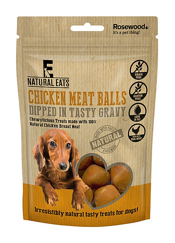 Rosewood Natural Eats Chicken Meatballs 100g