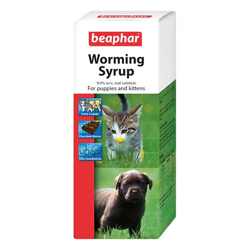 Beaphar Worming Syrup 45ml