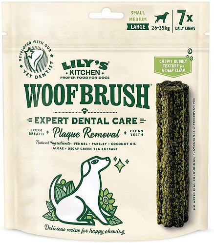 Lilys Kitchen Woofbrush Dental Chew Large 7pk