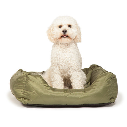 Danish Design Green Quilted Snuggle Bed