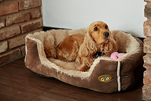 Gor Pets Nordic Snuggle Beds - Brown