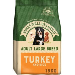 James Wellbeloved Adult Large Breed Turkey and Rice 15kg