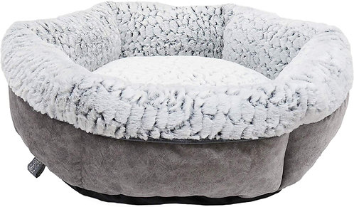 Rosewood Luxury Grey Plush Bed - Small