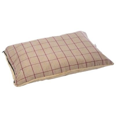 Gor Pets Premium Comfy Cushion - Beige Check