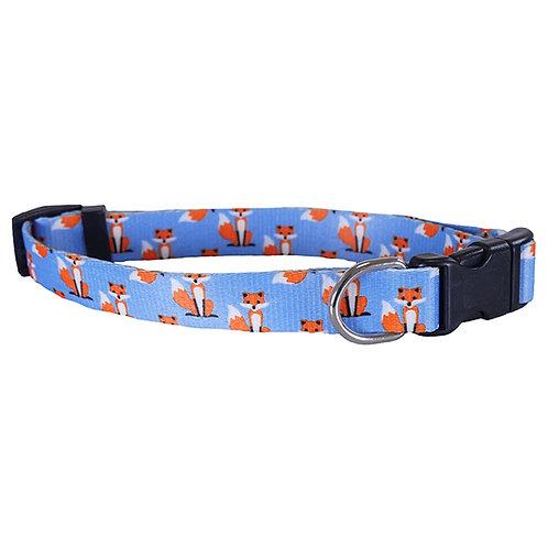 Rosewood Wag 'N' Walk Fox Print Collar