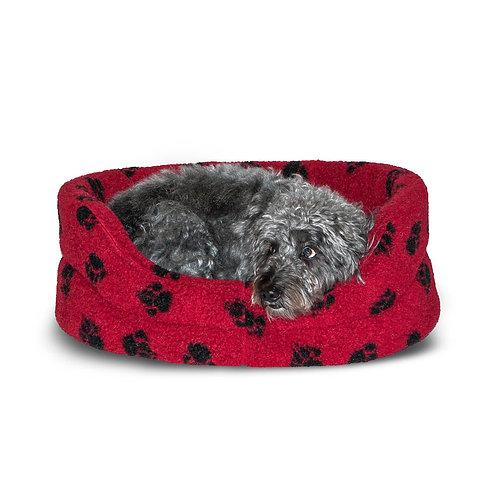 Danish Design Sherpa Fleece Wine Slumber Dog Bed