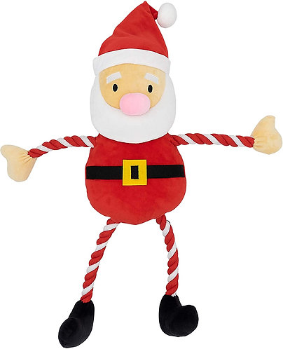 GoodBoy Christmas Dog Toys - Giant Hug Tug Santa - 75cm