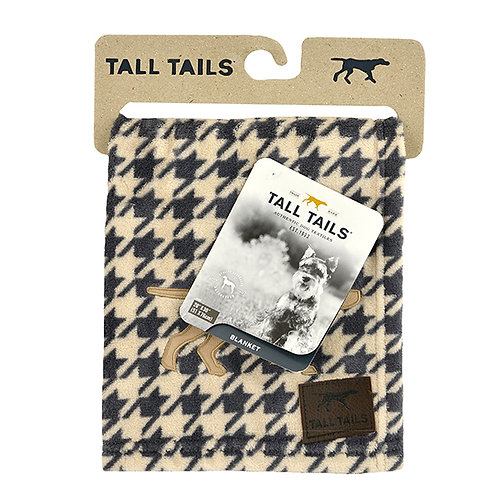 Tall Tails Houndstooth Pet Fleece Blanket Small
