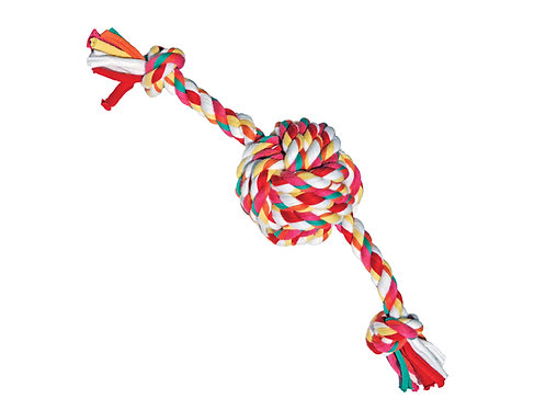 Rosewood Twistables Cotton Rope Ball Tug