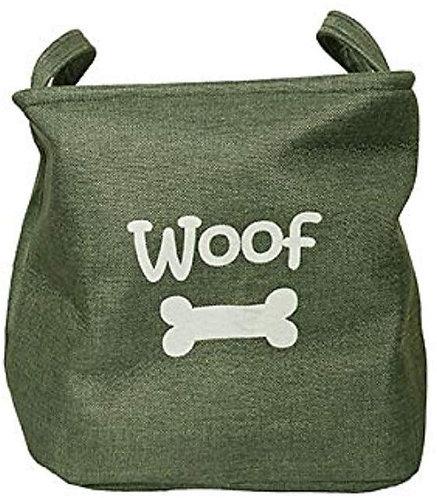 Rosewood Canvas Pet Toy Basket