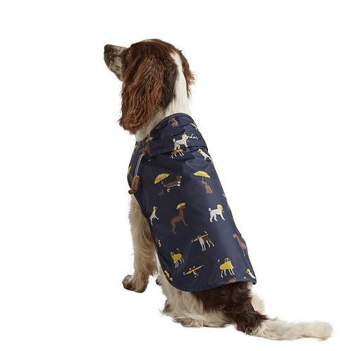 Joules Navy Dog Raincoat - Small