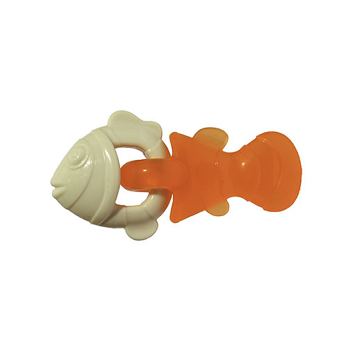 Rosewood Tough Puppy Duo Texture Tug Fish Toy
