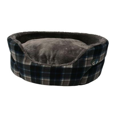 Gor Pets Essence Bed - Grey Check