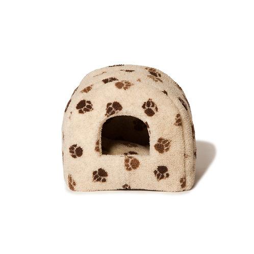 Danish Design Sherpa Fleece Beige Pet Igloo Bed