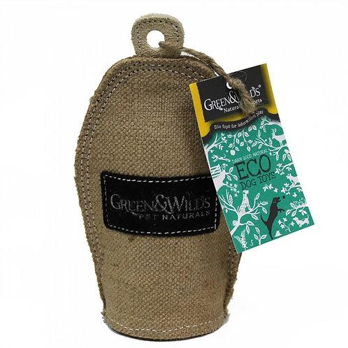 Green & Wilds Eco Dog Toy - Crinkler