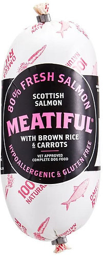 Meatiful Salmon & Brown Rice Sausage 720g