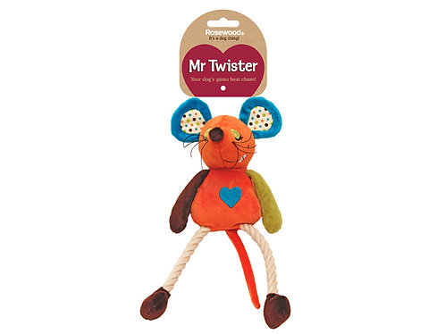 Rosewood Mister Twister Millie Mouse Toy