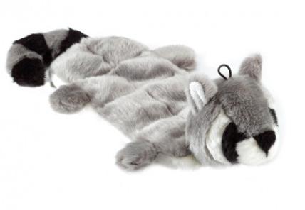 Gor Pets Wild Multi-Squeak Raccoon Toy