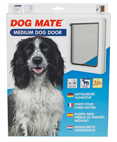 Pet Mate Medium Dog Door - White