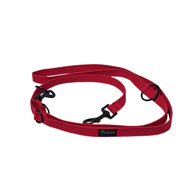 Gor Pets Cotton Dog Training Lead Large Red