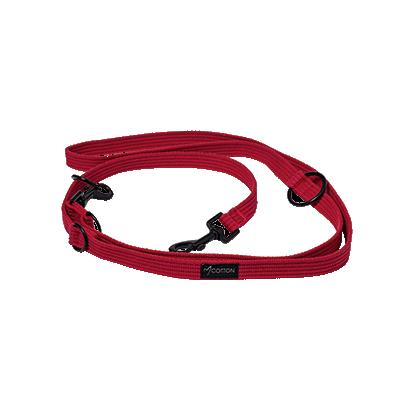 Gor Pets Cotton Dog Training Lead Medium Red