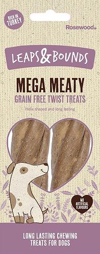 Rosewood Leaps & Bounds Mega Meaty Grain Free Twist Treats 2pc