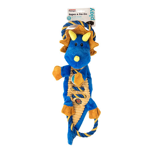 Petstages Ropes-A-Go-Go Jungle Dragon
