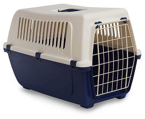 Rosewood Vision Classic Cat and Pet Carrier 50 cm, Small, Midnight Blue