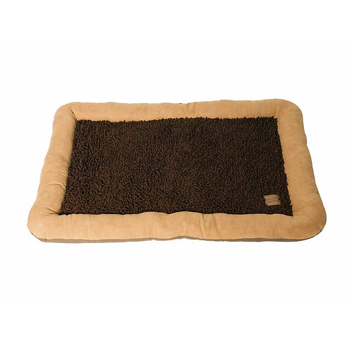 Danish Design Morocco Twist Pile Flat Mattress Bed