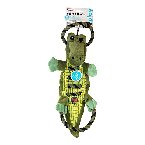 Petstages Ropes-A-Go-Go Jungle Gator