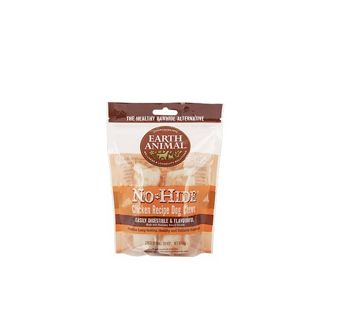 Earth Animal No Hide Chicken Medium Chews 2pk