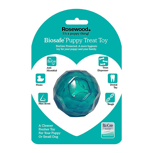Rosewood BioSafe Treat Ball Blue
