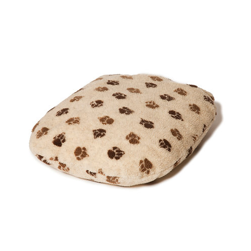 Danish Design Sherpa Fleece Beige Fibre Dog Bed