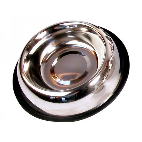 """Rosewood Non Slip Stainless Steel Bowl 6"""""""
