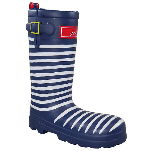 Joules Rubber Welly Dog Toy - Stripey