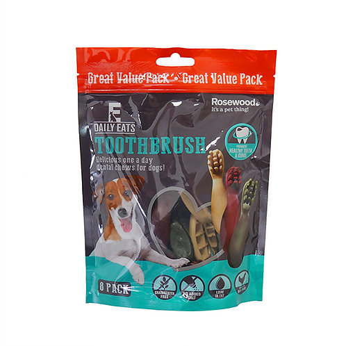Rosewood Daily Eats Toothbrush Value Pack 200G