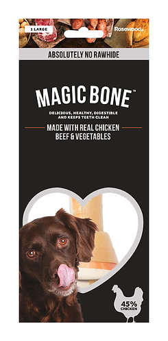Rosewood Magic Bone - Large