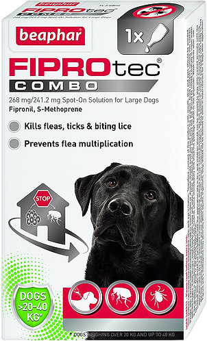 Beaphar Fiprotec Combo Large Dog (1 Pipette)